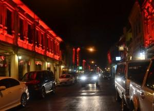 Colonial Buildings in Red Lights, Phuket Old Town and Soi Romannee, Travel in Thailand
