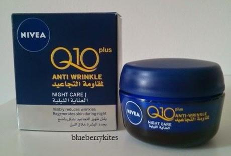 Nivea Q10 Plus Anti Wrinkle Night Care cream review