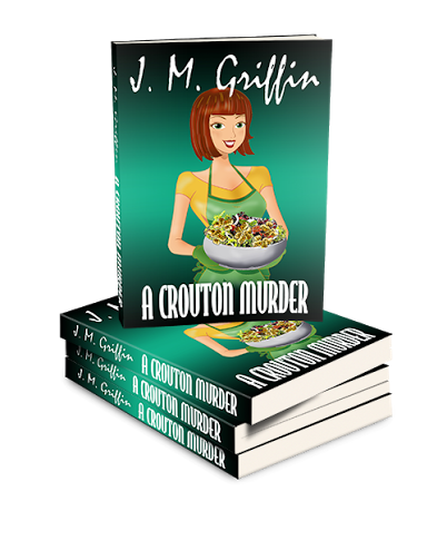A CROUTON MURDER BY J.M. GRIFFIN- REVIEW AND GUEST BLOG