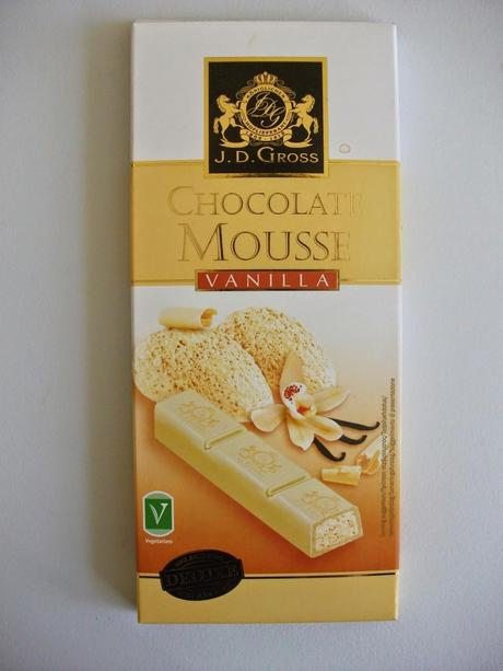 JD Gross Vanilla Mousse White Chocolate Bars Review (Lidl)