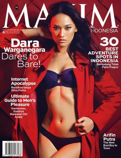 Dara Warganegra For Maxim Magazine, Indonesia, April 2014