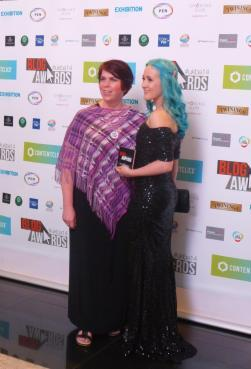 My amazing night at the National Blog Awards