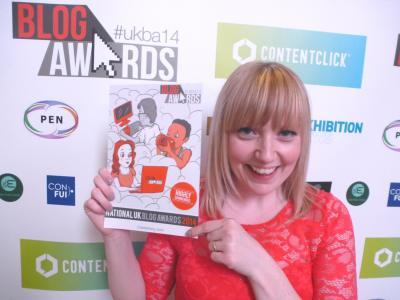 Cassiefairy National Blog Awards 2014 Highly Commended in Retail & Fashion category