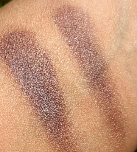 Oriflame The One Colour Impact Eye Shadow Intense Plum Swatches