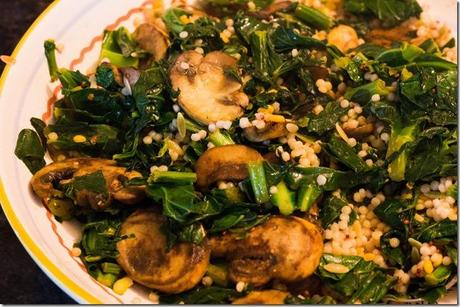 Collard Greens and Mushrooms (6 of 6)