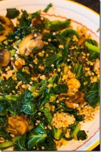 Collard Greens and Mushrooms (5 of 6)