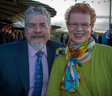 Rick and Joy at Phil's wedding reception