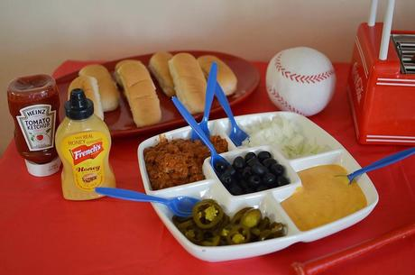 Simple Hot Dog and Nacho Bar