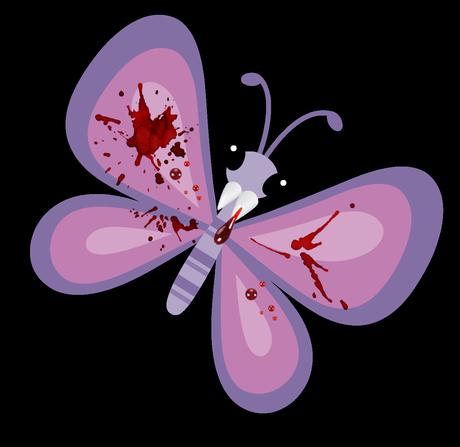 evil butterfly - 'growourown.blogspot.com' ~An allotment blog