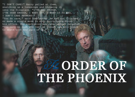 Leaving Hogwarts and the Order of the Phoenix