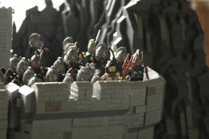 LEGO Helms Deep 09