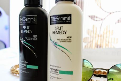 Split Hair Dont Care - TRESemme Split Hair Repair