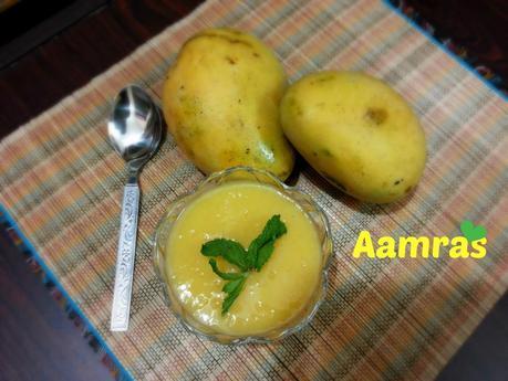 Aamras Recipe - How to make Aamras