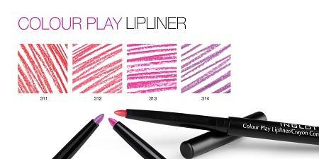 INGLOT Freedom system lipstick matte color and play lipliner