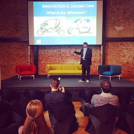 Auto(r) Design Conference Zagreb with Luciano Bove