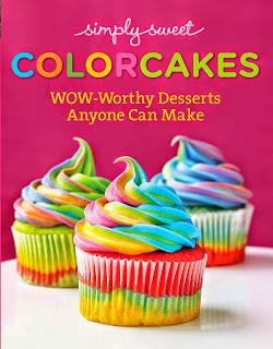 Simply Sweet's first cookbook Colorcakes features over 12...