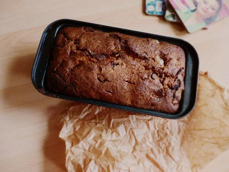 Chocolate, Cherry & Pecan Loaf Cake