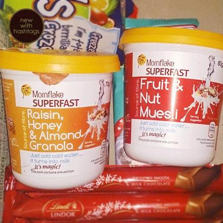 Degustabox April 2014 Mornflake Superfast Cereal Pots