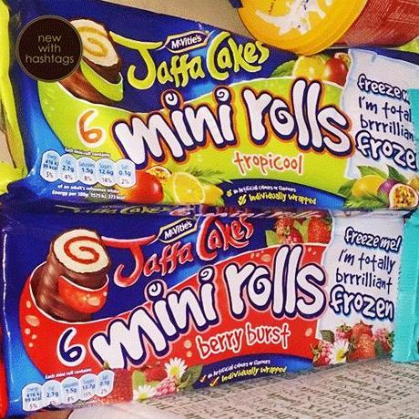 Degustabox April 2014 Jaffa Cakes Mini Rolls