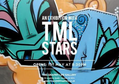 Graffiti Life presents the 'TML Stars' | Exhibition