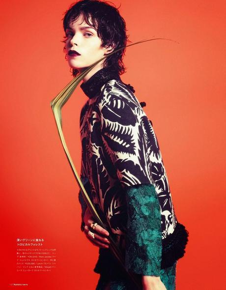Meghan Collison By Sofia Sanchez & Mauro Mongiello For Numero Tokyo #77 Magazine, June 2014