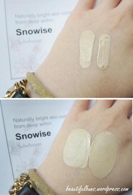 Event Sulwhasoo Snowise Whitening BB essence (5)