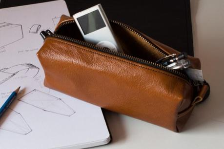 This Leather Pencil Case Aint For School Kids