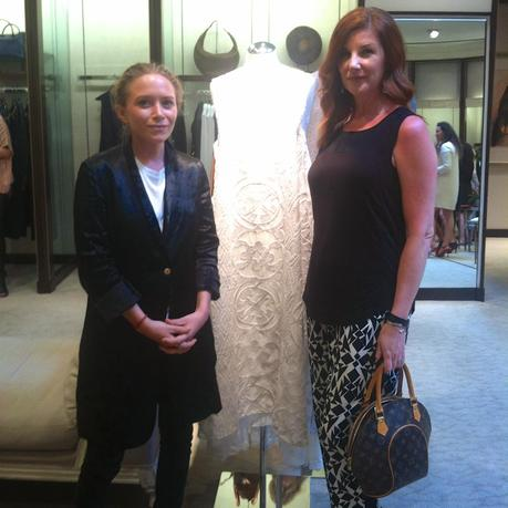 The Olsen twins debut The Row Fall 2014 at Neiman Marcus