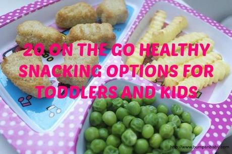 on the go healthy snacking options for toddlers