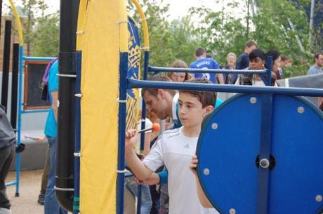 Queen Elizabeth Park, Music Maze Playground - Drum
