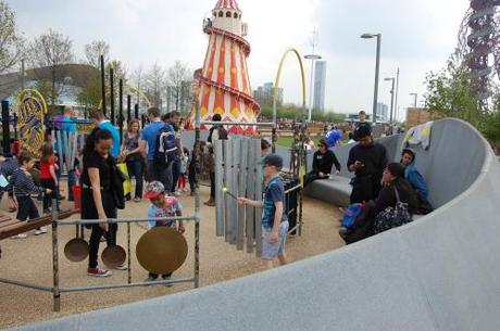 Queen Elizabeth Park, Music Maze Playground - Overview