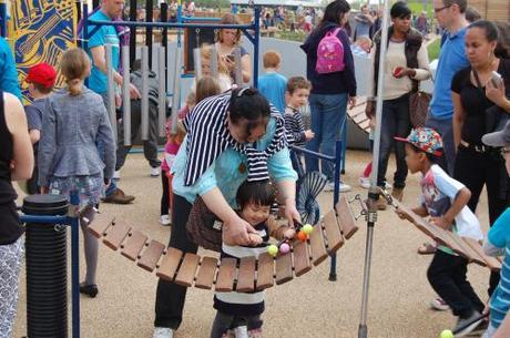 Queen Elizabeth Park, Music Maze Playground - Xylophone