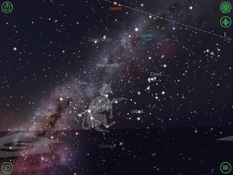 Star Walk HD app for iPad