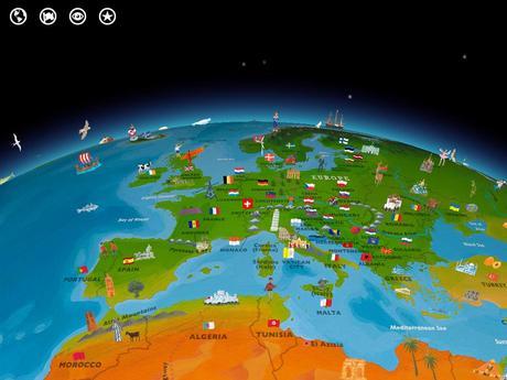 Barefoot World Atlas app for iPad