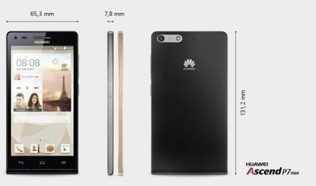 Huawei's mini version of the Ascend P7