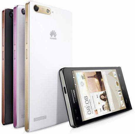 Huawei's upcoming smartphone, the Ascend P7
