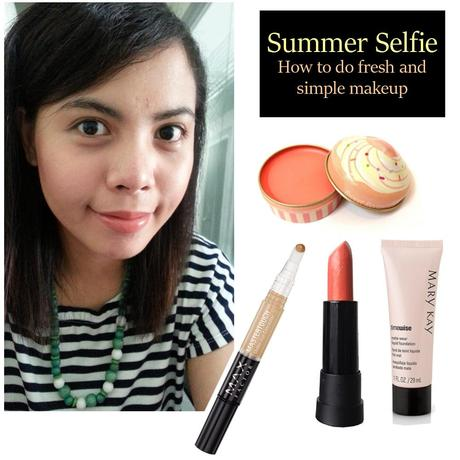 How To Do Fresh and Simple Makeup For Summer