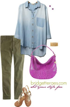 One Item, Five Fashionable Ways. Look 1