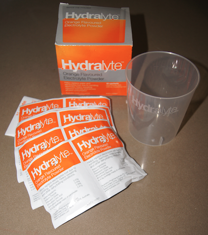 Getting through gastro with HYDRALYTE