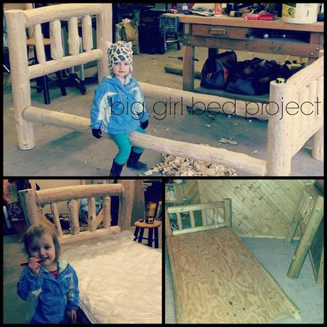 * Weekend Recap: ECFE sale, Bridal Shower & BIG(ger) Girl Bed!
