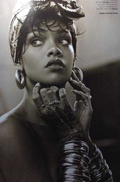 More Pictures From Rihanna's Vogue Brazil