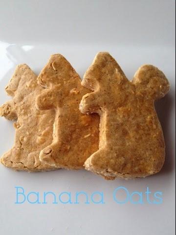 Banana Oat Squirrels