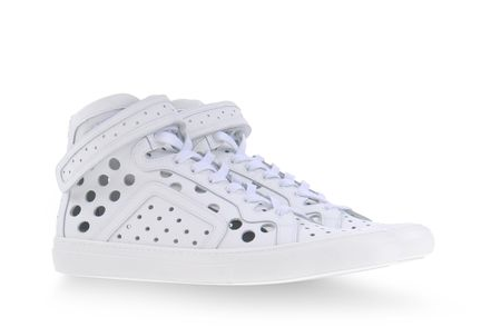 A Hole Lot Of Whimsy: Pierre Hardy High Top Sneaker
