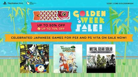 Golden Week Sale on PSN discounts many Japanese games