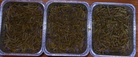 Then came the green beans.