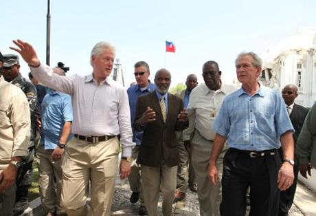 Clinton & Bush to Haiti March 22, 2010