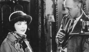 Cinematographer-Joe-LaShelle-with-Colleen-Moore