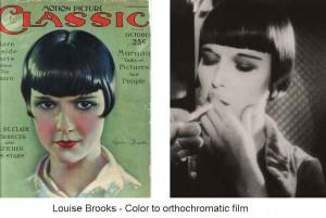 Louise-Brooks---Color-to-orthochromatic-b&W--film