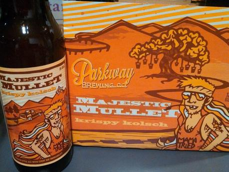 Parkway Brewing's Majestic Mullet Krispy Kolsch: more than just a cool name
