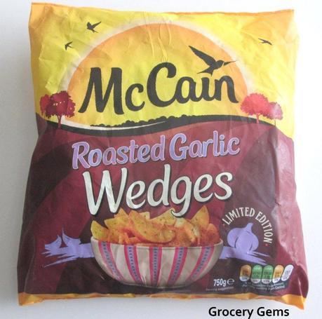 New McCain Roasted Garlic Wedges
